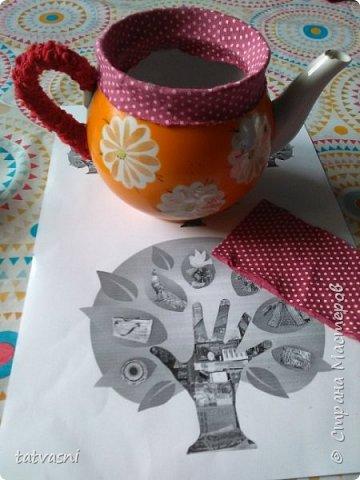 В моем доме добавился ещё один уютный, яркий и красивый предмет. давно мечтала взяться за старые чайники. Обновить, дать новую жизнь. И реализовать из запасов те материалы, которые многие выбрасывают. А я не могу и пытаюсь их переделать и порадовать себя и родных. Можно использовать как подставку для карандашей. фото 9