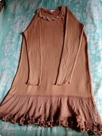 Это платье - перевязанный полувер фото 1