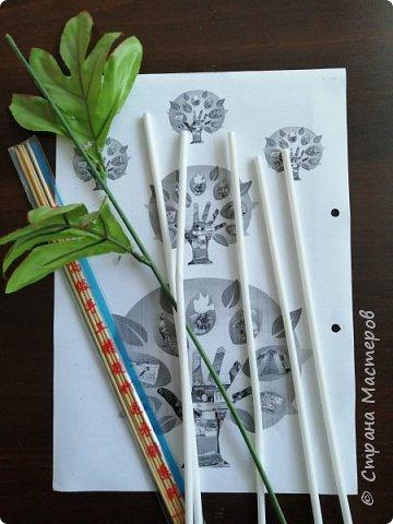 Всем доброе время суток. представляю Вам  свою работу. Цветы из трубочек. фото 7