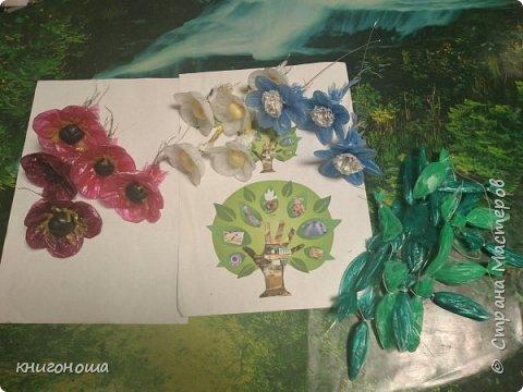 В память о прекрасном мастере Ирине Казаковой (Голубке) решила сделать букет красных маков.  фото 7