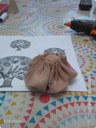 """Знакомьтесь Куколка Настенька.  Я сижу на сундучке, Думаю,что делать? Мне от бабушки досталось """"Старое"""" наследство... фото 11"""