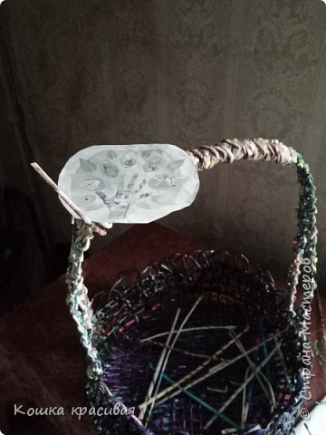 Моя пасхальная корзинка фото 5