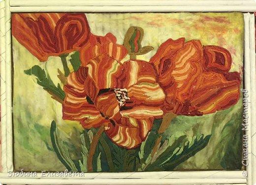 Хочу представить свою работу – «Маки». Я создавала эту картину в память о мастере - Ирине Казаковой - Голубке, человеке, который посвятил себя и свою жизнь миру искусства и творчества.  Маки - это великолепные цветы, символ неувядаемой молодости и женского очарования. ***  Маки - это те цветы,  В которых нежность и пламя любви.  Когда на маки смотрю,  То картину Моне вспоминаю.  Гимн макам я воздаю,  И стихи о них возлагаю. /Натали Стэфф/  фото 15