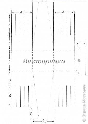Вариант простого плетения бумажными полосками в два цвета. фото 7