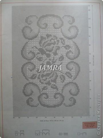 Схема скатерти.  http://stranamasterov.ru/node/14589#comment-352906  а вот здесь и сама скатерть .  фото 1