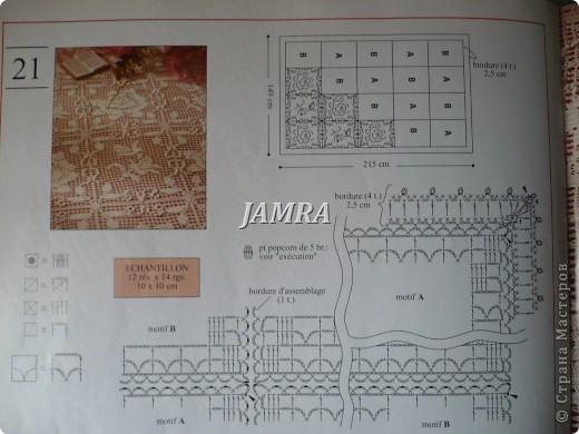Схема скатерти.  http://stranamasterov.ru/node/14589#comment-352906  а вот здесь и сама скатерть .  фото 2