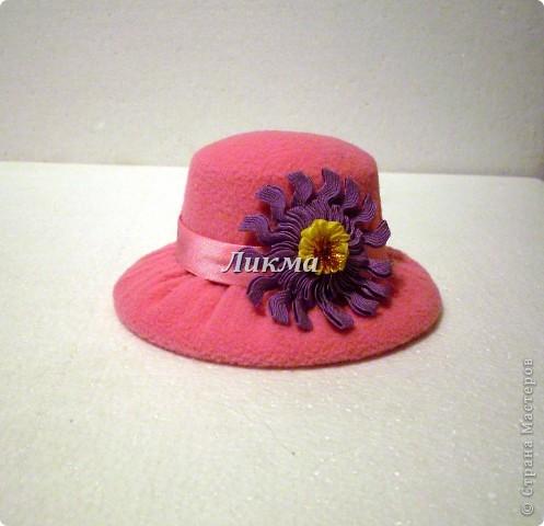 Шляпка-игольница фото 10