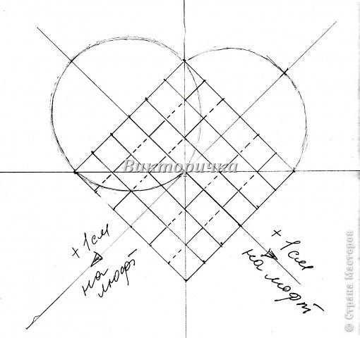 Вариант простого плетения бумажными полосками в два цвета. фото 3