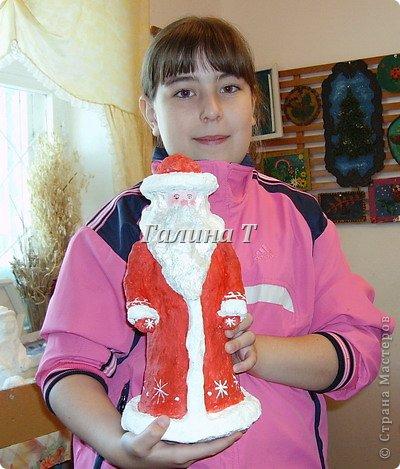 Дед Мороз. Работа Верещагиной Анжелики фото 1