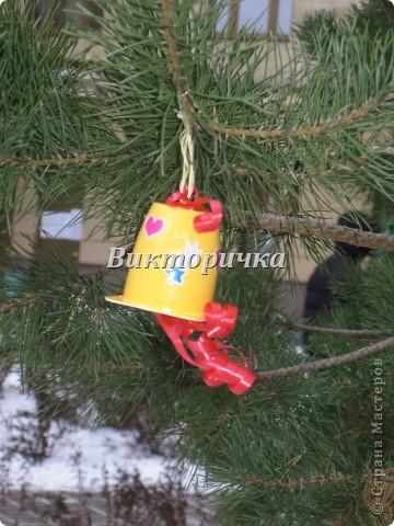 Черепашка.  Пластиковая коробочка, одноразовые ложки, самоклеющаяся цветная бумага, таблетка для кофемашины. фото 9