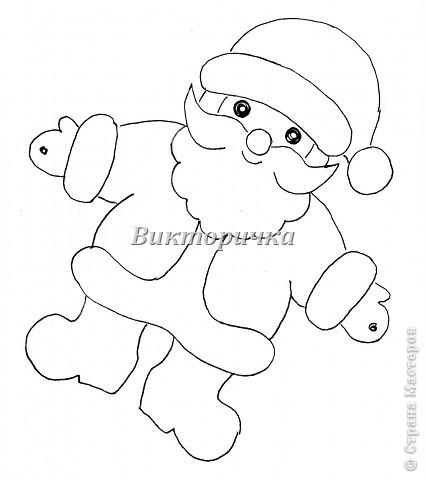 Мастер-класс Открытка Новый год Рождество Аппликация Вырезание силуэтное 4 декабря - День заказов подарков Деду Морозу Новогодняя гирлянда  Бумага фото 2