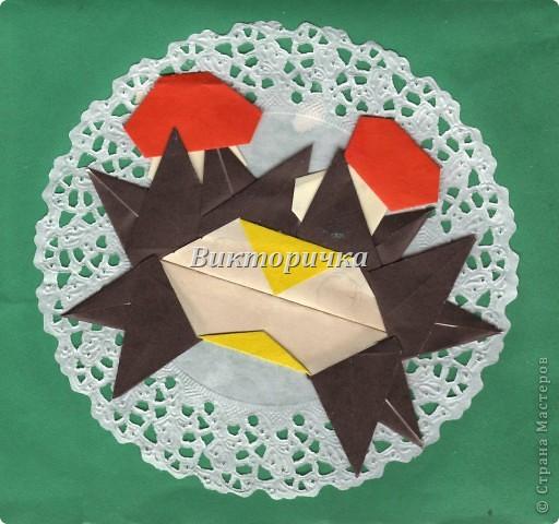 Маски Мастер-класс Новый год Праздник осени Оригами Маска Ёжик  Бумага фото 31