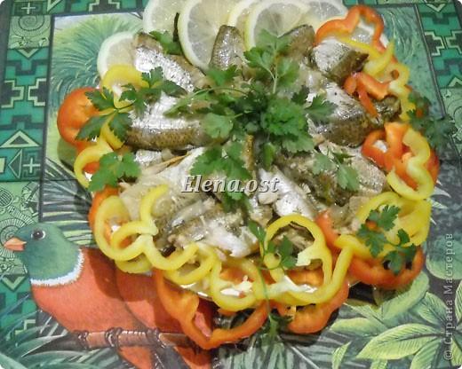 """Саламур или рыба маринованная. Еще можно назвать """"селедочка по-домашнему"""". Мой любимый рецепт приготовления рыбы. Рыбку можно брать любую. Особенно хороши: карп, карась, тарань, окунь, щука, судак.  фото 8"""