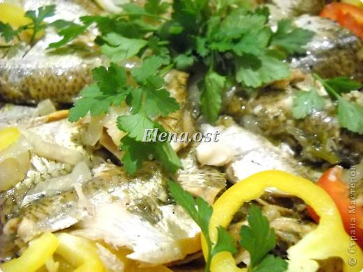"""Саламур или рыба маринованная. Еще можно назвать """"селедочка по-домашнему"""". Мой любимый рецепт приготовления рыбы. Рыбку можно брать любую. Особенно хороши: карп, карась, тарань, окунь, щука, судак.  фото 9"""