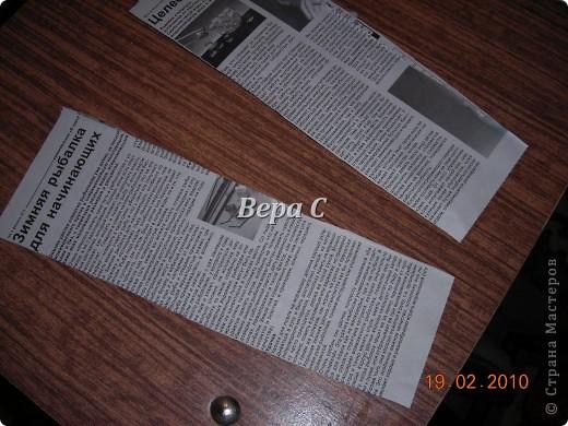 Мастер-класс Материалы и инструменты Плетение Мастер класс плетения из газеты для новичков Бумага газетная Трубочки бумажные фото 20