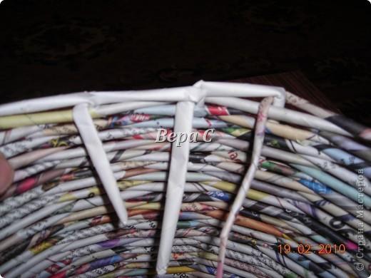 Мастер-класс Материалы и инструменты Плетение Мастер класс плетения из газеты для новичков Бумага газетная Трубочки бумажные фото 14
