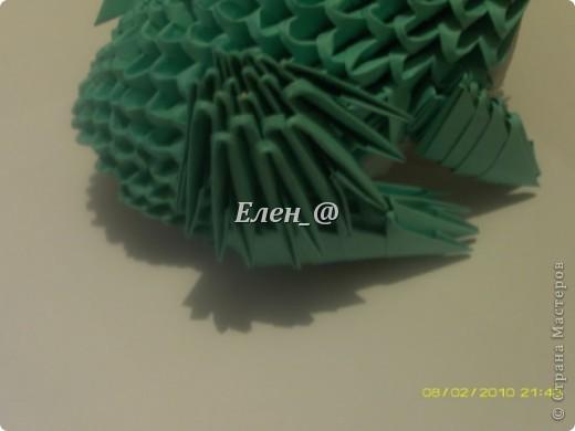 По многочисленным просьбам... Все, что нам понадобится- офисная бумага зеленого и белого цвета, из которой нужно с делать соответственно : зеленых модулей-290 белых-135 фото 25