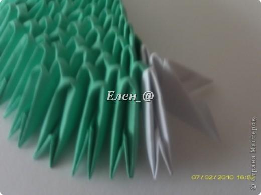 Поделка изделие Оригами китайское модульное Лягушка Бумага фото 7