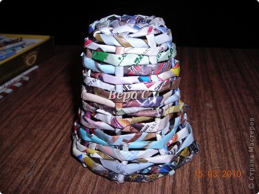 Вот решила сделать МК по плетению колокольчиков,которые просили. Первые свои колокольчики я плела  просто на руках,смотря на фото  у Евгеши. Но так  никак не покажешь,долго искала форму,на что можно плести и нашла. фото 9