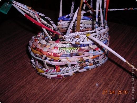 На одном иностранном сайте увидела плетеный башмак,описания там не было. Долго я его там рассматривала ,немного изменила и решила поделиться с вами его созданием. фото 7