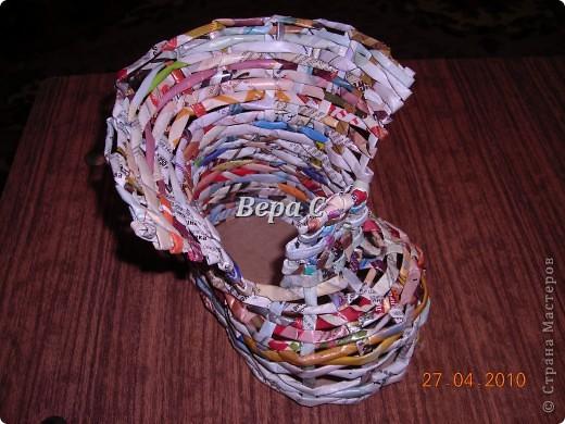 На одном иностранном сайте увидела плетеный башмак,описания там не было. Долго я его там рассматривала ,немного изменила и решила поделиться с вами его созданием. фото 13