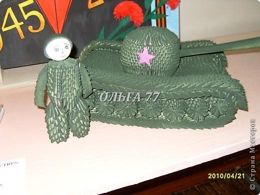Танк Т-34. С Днём Победы!  фото 2