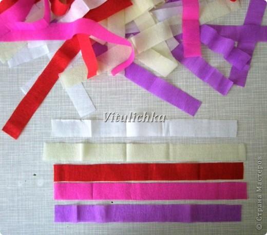 فئة رئيسية في 8 مارس عيد ميلاد السنة الجديدة المدرسة كرات Bumagoplastika اللف زهرة ورقة ورقة المموج ورقة شرائط المواضيع صور 20