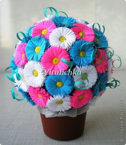 Цветочные шары Бумага