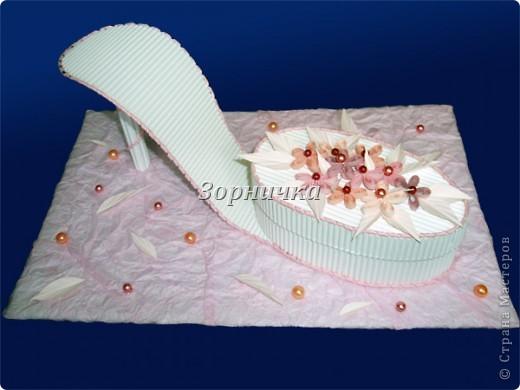 Туфелька-шкатулка