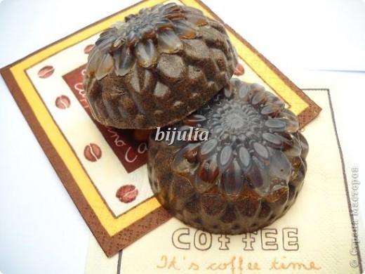 """Мылко """"Кофемания"""". В составе натуральный черный кофе. фото 1"""