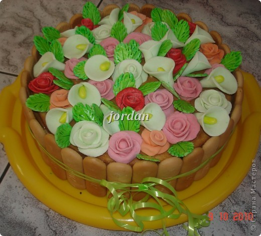 "торт ""Клумба"")))"