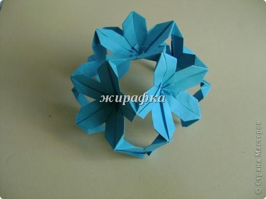Poinsettia из книги Mukerji M.-Marvelous modular origami. Схему для неё любезно предоставила Олеся1979   на http://stranamasterov.ru/node/66700 фото 14