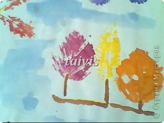 Печать листьями. Подготовительная группа. фото 2