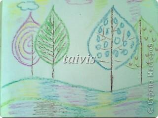 Печать листьями. Подготовительная группа. фото 10