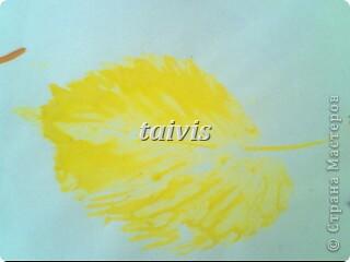 Печать листьями. Подготовительная группа. фото 8