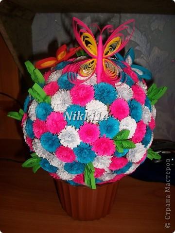 Цветущий шарик.