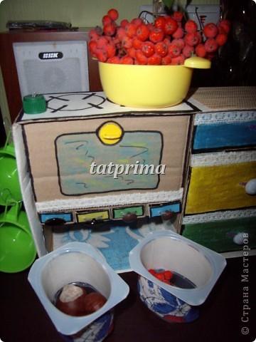 Вдохновившись походом по просторам интернет, решила соорудить кухоньку для сына. Вот что у меня получилось... фото 10