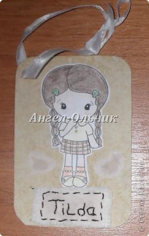 Бирочки(сертификаты)для кукол фото 2