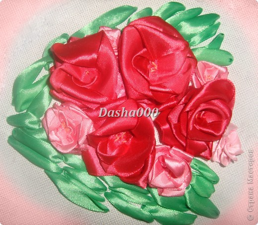 Вышивка Роз