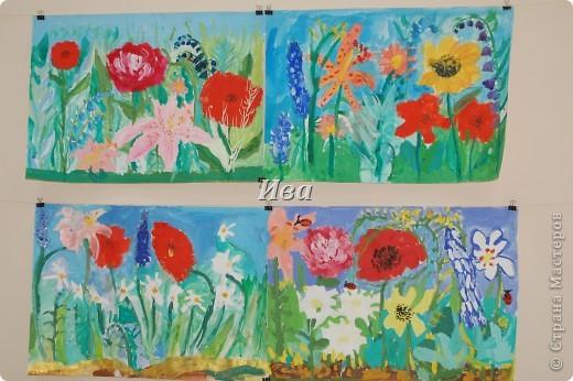 Рисование гуашью. Работы детей в возрасте 6-8 лет. фото 1