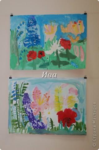 Рисование гуашью. Работы детей в возрасте 6-8 лет. фото 2