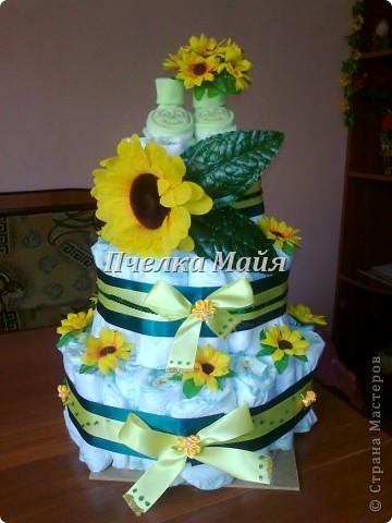 это мой первый тортик. делала для своего крестника фото 2