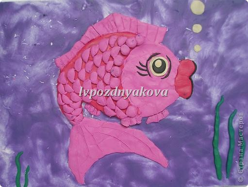 Рыбка. Таня, Кристина-6 лет.