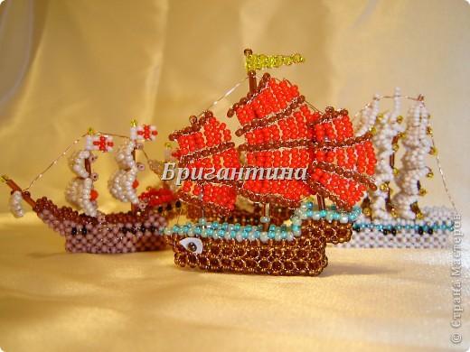 """Корабль делала, читая книгу """"История судостроения. Суда Китая"""". Схемку разработала сама.  фото 5"""
