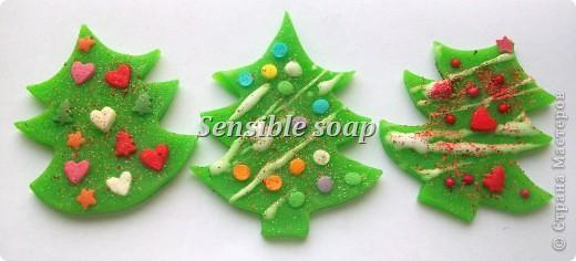 Мыло ручной работы.новогоднее мыло фото 6