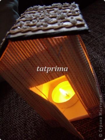 Светящийся домик на ёлку фото 2