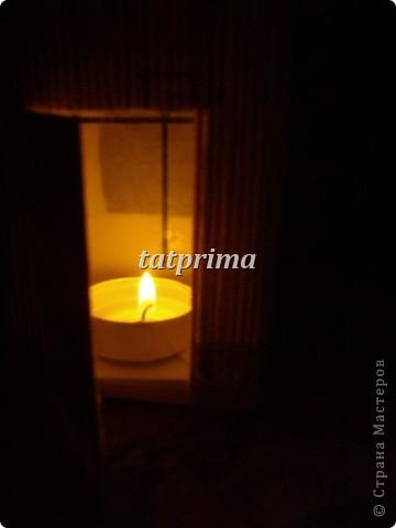 Светящийся домик на ёлку фото 4