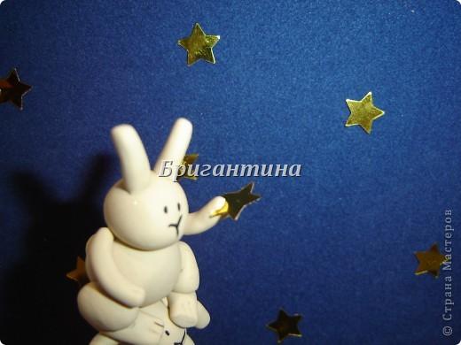 Это моя вторая работа про влюбленных кроликов (первая здесь http://stranamasterov.ru/node/112370). Вдохновил меня Энди Райли - художник. Его кролики-самоубийцы просто великолепны! фото 4