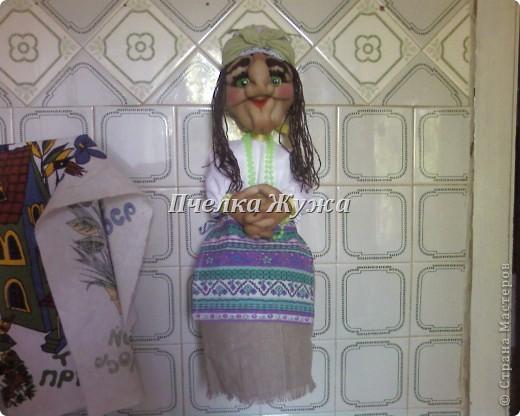 Моя Бабулечка-красотулечка Яга Пантелеевна живет-поживает на стенке в кухне, фото 1