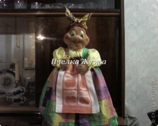 Моя Бабулечка-красотулечка Яга Пантелеевна живет-поживает на стенке в кухне, фото 2